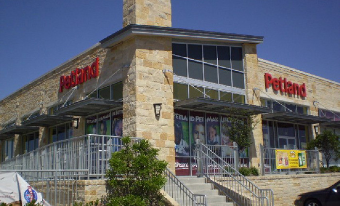 Exterior of Petland at Southpark Meadows